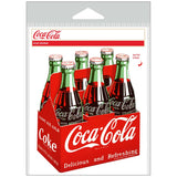 Coca-Cola Classic Bottles 6 Pack 1950s Sticker