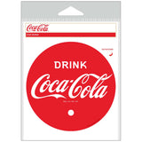 Drink Coca-Cola 1930s Red Disc Sticker
