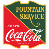 Coca-Cola 1930s Fountain Service Sticker