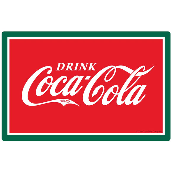 Drink Coca-Cola Logo Sticker