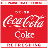 Drink Coca-Cola Coke Red Sticker