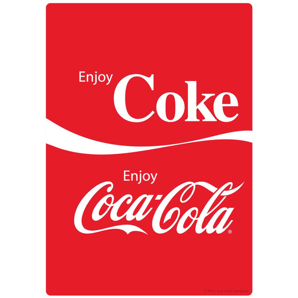 Coca-Cola Enjoy Coke Dual Logo Sticker