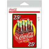Coca-Cola 25 Cents 6 Pack Sticker