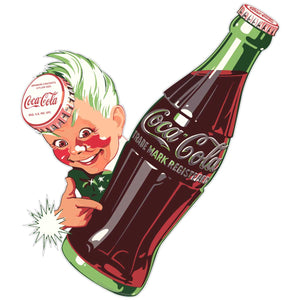 Coca-Cola Sprite Boy Bottle Sticker