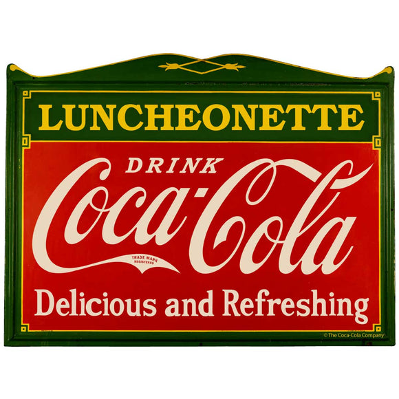 Coca-Cola Luncheonette Deco Sticker
