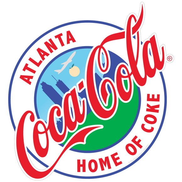 Coca-Cola Atlanta Georgia Sticker