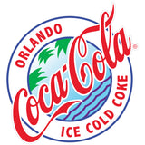Coca-Cola Orlando Florida Sticker