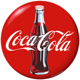 Coca-Cola Bottle Red Disc Sticker