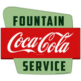 Coca-Cola Fountain Service Googie Sticker