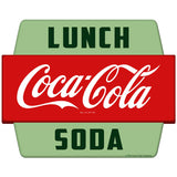 Coca-Cola Lunch Soda Hexagon Sticker
