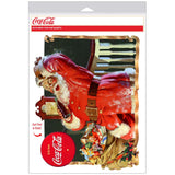 Coca-Cola Santa They Remembered Me Decal