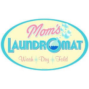 Moms Laundromat Decal