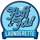 Fluff and Fold Launderette Decal