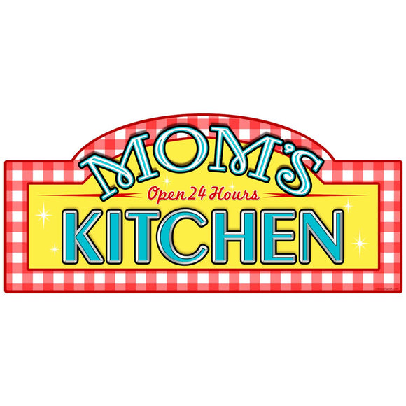 Moms Kitchen Marquee Decal