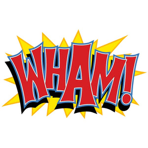 Wham Cut Out Decal