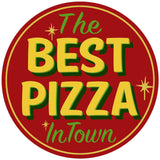 Best Pizza in Town Decal