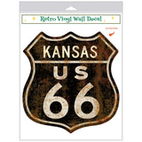 Route 66 Kansas Decal