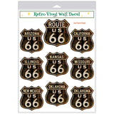 Route 66 Decal Set
