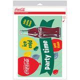 Coca-Cola Party Time Decal