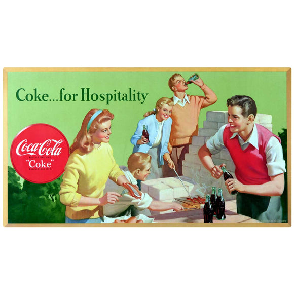 Coke For Hospitality Decal