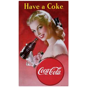 Have a Coke Girl Decal