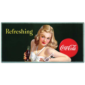 Coca-Cola Girl With Sunglasses Refreshing Decal