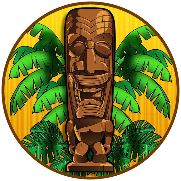 Happy Tiki Idol Sticker