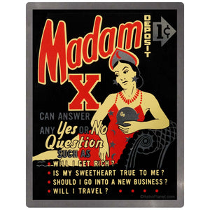 Madam X Fortune Teller Sticker