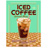 Iced Coffee Served Here Decal