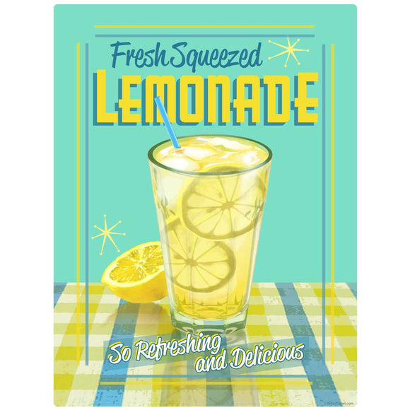 Lemonade Fresh Squeezed Decal