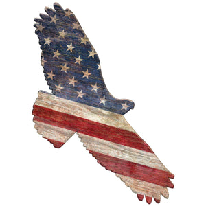 American Flag Eagle Patriotic Decal