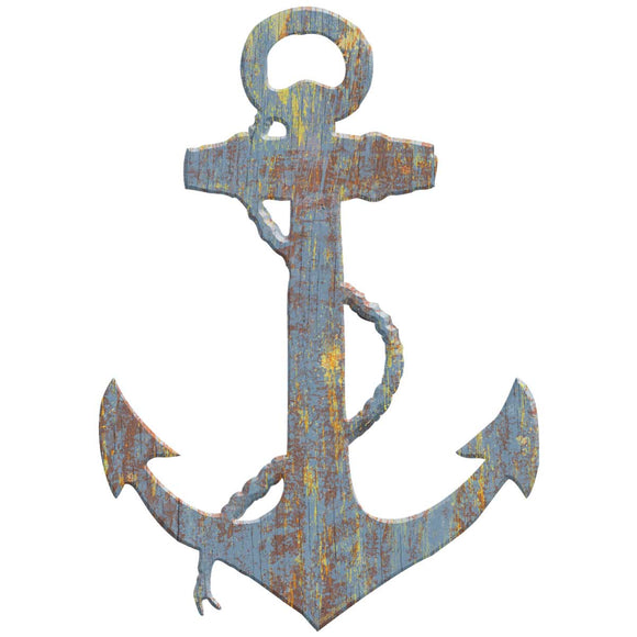 Ships Anchor Cut Out Decal