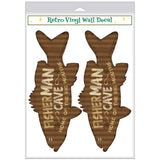 Fisherman Cave Big Mouths Wholesale Decal Set of 2