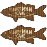 Fisher-Man-Cave Wholesale Decal