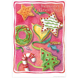 Christmas Cookies Holiday Decal