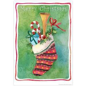 Christmas Stocking Holiday Decal