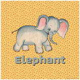 Cute Baby Elephant Decal