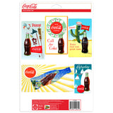 Coca-Cola Bottle Summer Sticker Set of 5