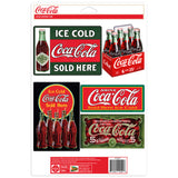 Coca-Cola Evergreen Sticker Set of 5