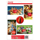 Coca-Cola Friendly Circle Picnic Sticker Set of 5