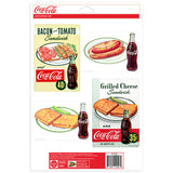 Coca-Cola Sandwich Kitsch Sticker Set of 4