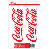 Coca-Cola Classic Script Sticker Set of 2