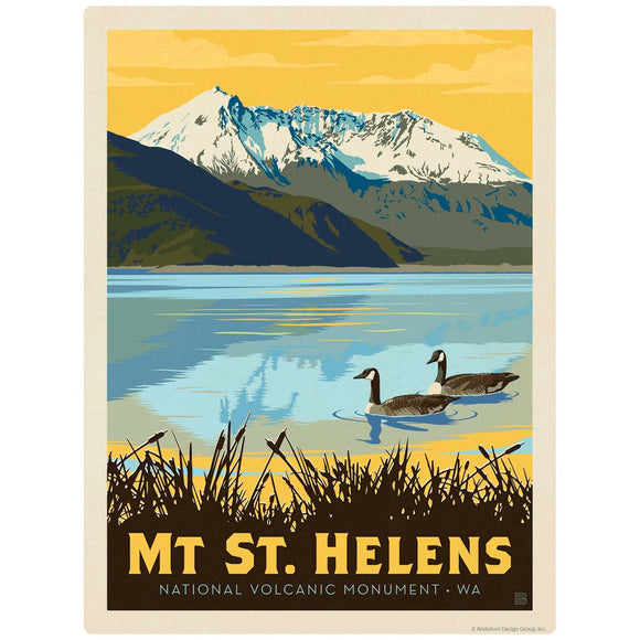 Mount St. Helens Washington Decal