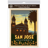 San Jose California Cathedral Basilica Decal