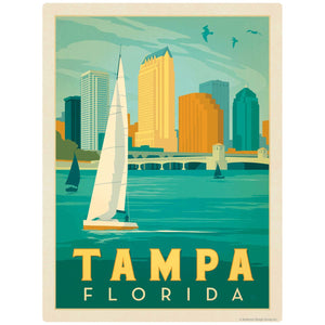 Tampa Florida Decal