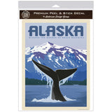 Alaska Whale Watching Decal