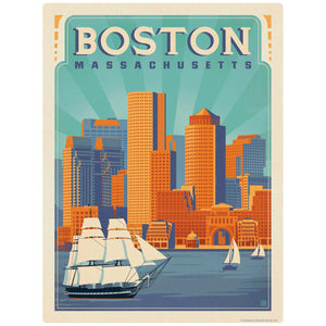 Boston Massachusetts Decal