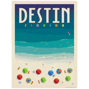Destin Florida Beach Decal