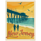 New Jersey Shoreline Decal