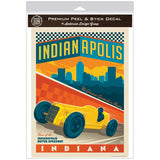 Indianapolis Motor Speedway Indiana Decal